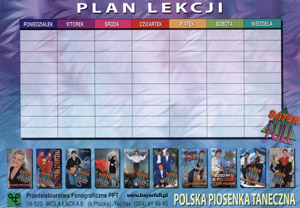 Plan lekcji Bayer Full